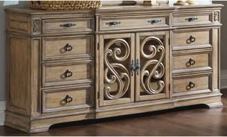 One Allium Way Varennes 9 Drawer Combo Dresser