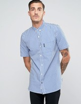 Lambretta Check Shirt With Shorts Sleeves