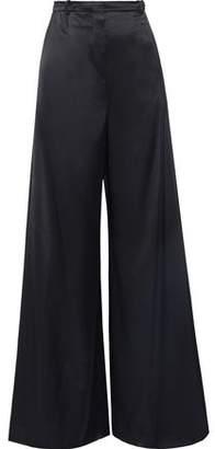 Lanvin Satin Wide-leg Pants