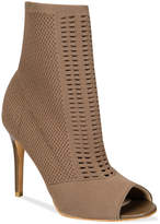 Charles by Charles David Rebellious Stretch Peep-Toe Booties