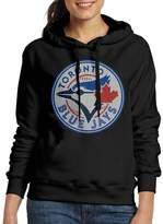 Sarah Women's 2016 Toronto Blue Jays TOR Logo Hoodie L