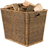 OKA Burley Log Rattan Storage Basket