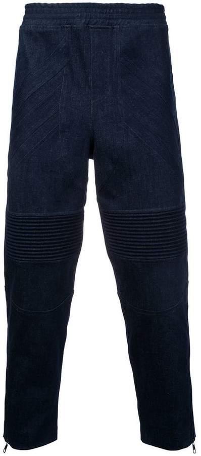 Neil Barrett cropped biker trousers