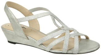 LifeStride Yaya Wedge Sandal - Wide Width Available