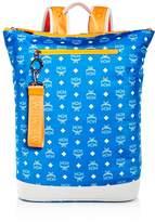 Mcm Resnick Nylon Zip-Top Backpack