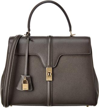 Celine Medium 16 Leather Satchel