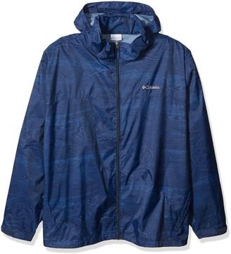 Columbia Men's Big and Tall Glennaker Lake Big & Tall Printed Rain Jacket