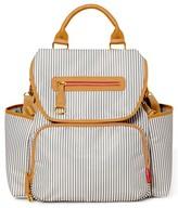 Skip Hop Infant Grand Central Take-It-All Diaper Backpack - Grey