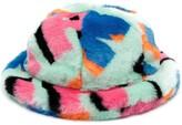 Cloche Kirin faux fur hat