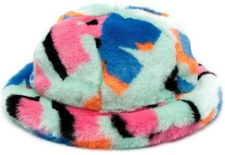 Kirin Faux Fur Cloche Hat