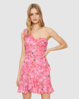 Cooper St Stella One-Shoulder Mini Dress