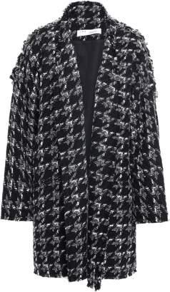 IRO Trouble Oversized Houndstooth Boucle Coat
