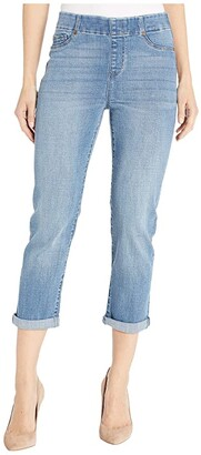 Liverpool Chloe Crop Rolled Cuff in Beaumont (Beaumont) Women's Jeans