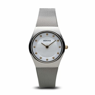Bering Womens Analogue Quartz Watch with Stainless Steel Strap 11927-004