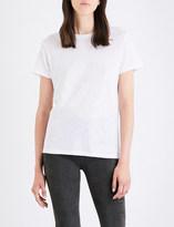 Vince Marl-effect cotton-jersey T-shirt