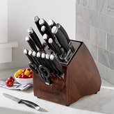 Crate & Barrel Calphalon Contemporary 20-Piece Knife Block Set with SharpINTM Technology