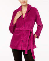 Miss Elaine Fleece Solid Bed Jacket