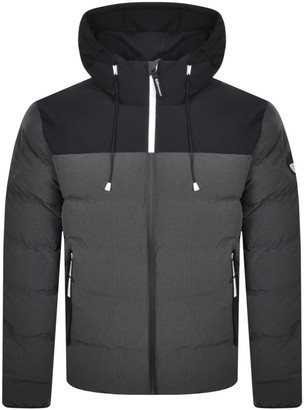 EA7 Emporio Armani Padded Jacket Grey