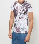 New Look White Floral Nyc Print T-shirt