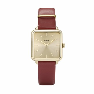 Cluse Womens Analogue Quartz Watch with Leather Strap CL60009