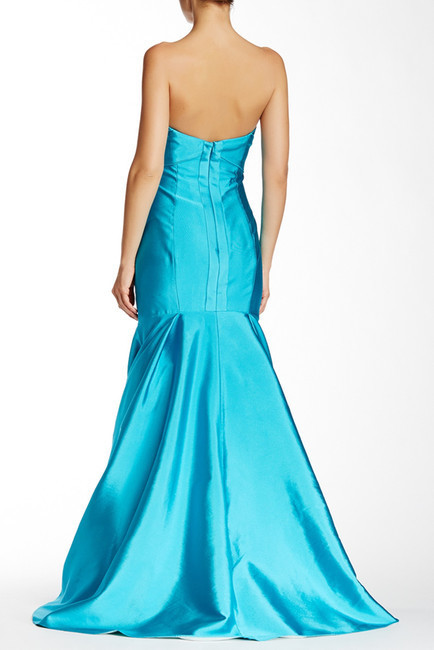 Theia 881945 Strapless Sweetheart Mermaid Gown with Shawl