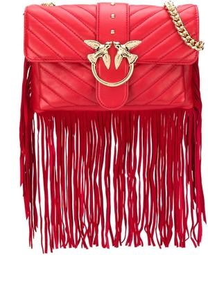 Pinko mini Love fringed bag