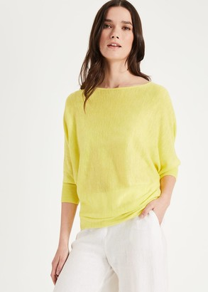 Phase Eight Becca Fluro Knit Top