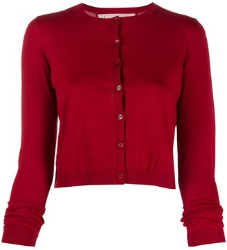 RED Valentino Cropped Knitted Cardigan