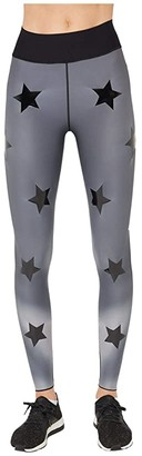ULTRACOR Hypercolor Ultra High Leggings (Grey Print/Patent Nero) Women's Casual Pants