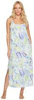 Lauren Ralph Lauren Paisley Maxi Gown Women's Pajama
