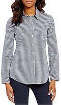 Pendleton Gingham Check Point Collar Long Sleeve Shirt