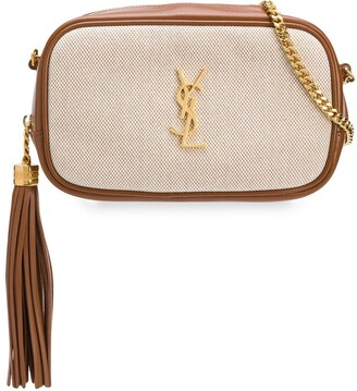 Saint Laurent mini Lou two-toned crossbody bag