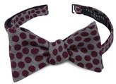 Ted Baker Dot Wool Bow Tie