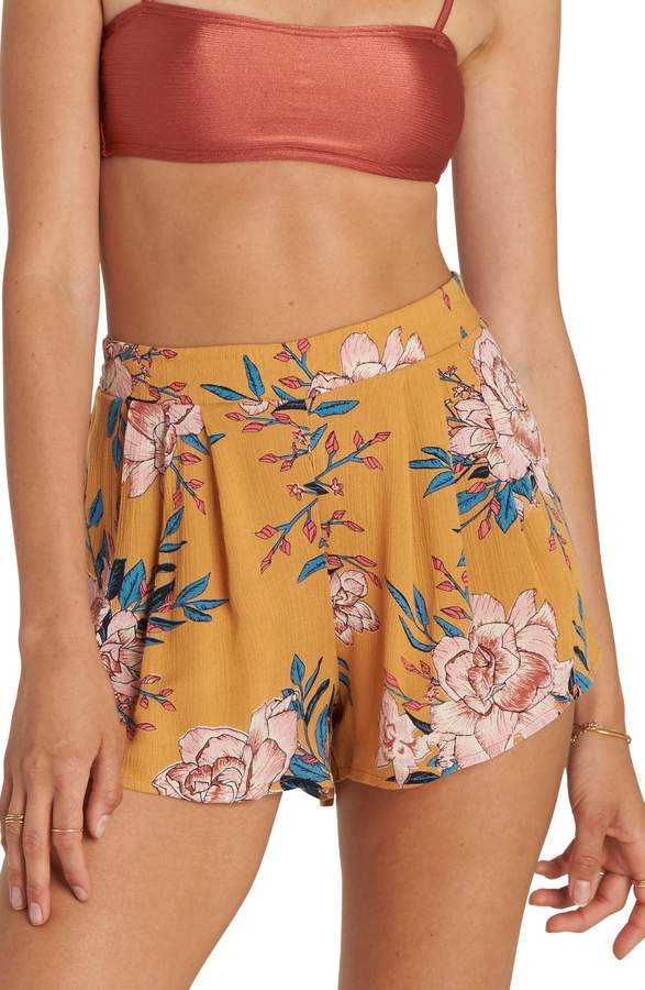 Billabong La Jupe Print High Waist Shorts