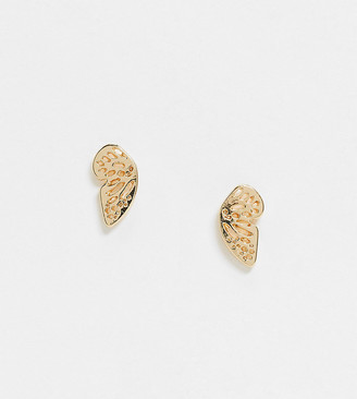 DesignB London Exclusive earrings in butterfly pair