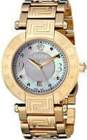 Versace Women's 68Q70D498 S070 Reve Gold Plated Mother-Of-Pearl Bracelet Watch