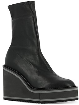 Clergerie Women's Bliss 4 Wedge Booties