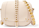 Jerome Dreyfuss Victor embellished leather shoulder bag