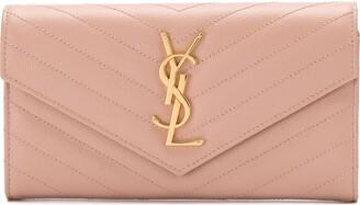 Saint Laurent Large Monogram Flap wallet