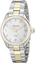 Alpina Women's AL-525STD2CD3B Comtesse Analog Display Automatic Self Wind Two Tone Watch