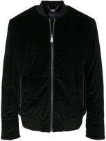 Billionaire quilted bomber jacket
