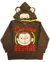 Curious George Toddler Boys' Curious George Costume Hoodie - Brown