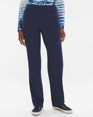 Chico's Chicos Heavyweight Neema Knit-Mix Pants