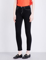 Claudie Pierlot Paola skinny cropped mid-rise jeans