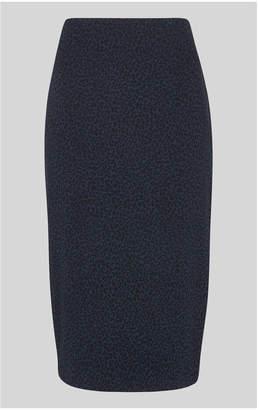 Whistles Animal Jersey Tube Skirt
