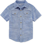 Arizona Short-Sleeve Button-Front Shirt - Preschool Boys 4-7
