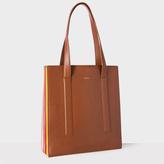 Paul Smith Women's Tan 'Concertina' Tote Bag