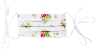 Merritt Charles Gardenia Face Mask - Vintage Florals With Ties