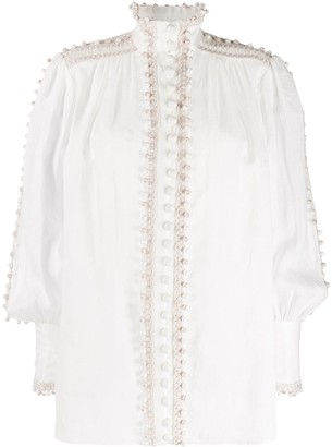 Zimmermann Bauble Trim Blouse