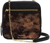 Vera Bradley Bronze Age Elena Leather Crossbody Bag
